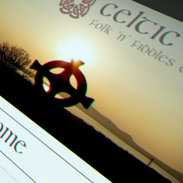 Screenshot of Celtic Krystal's website.