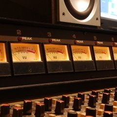 Image of the desk at SoundARC Recording Studios