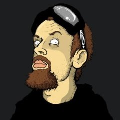 Image of Leonard Burton as drawn by Josh Mecouch