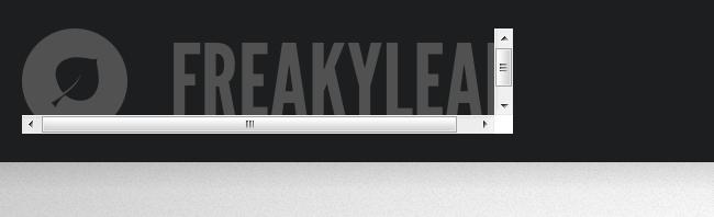 Safari SVG Scrollbars Zoomed to 150%