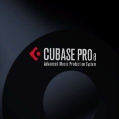 Image of the Cubase 8 logo, as seen on the product's box.